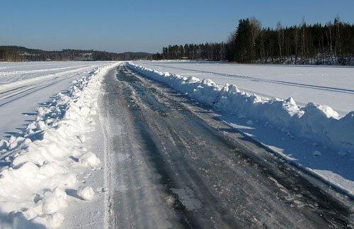 Дорога по льду