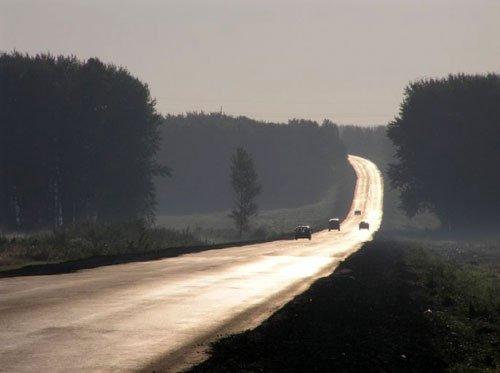 Фото: На машине по трассе Тольятти - Уфа
