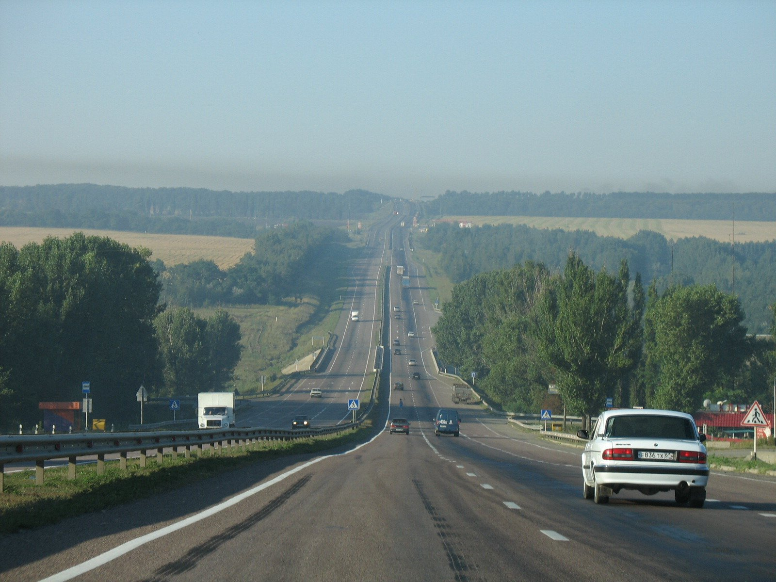 трасса Крым из Орла в Белгород