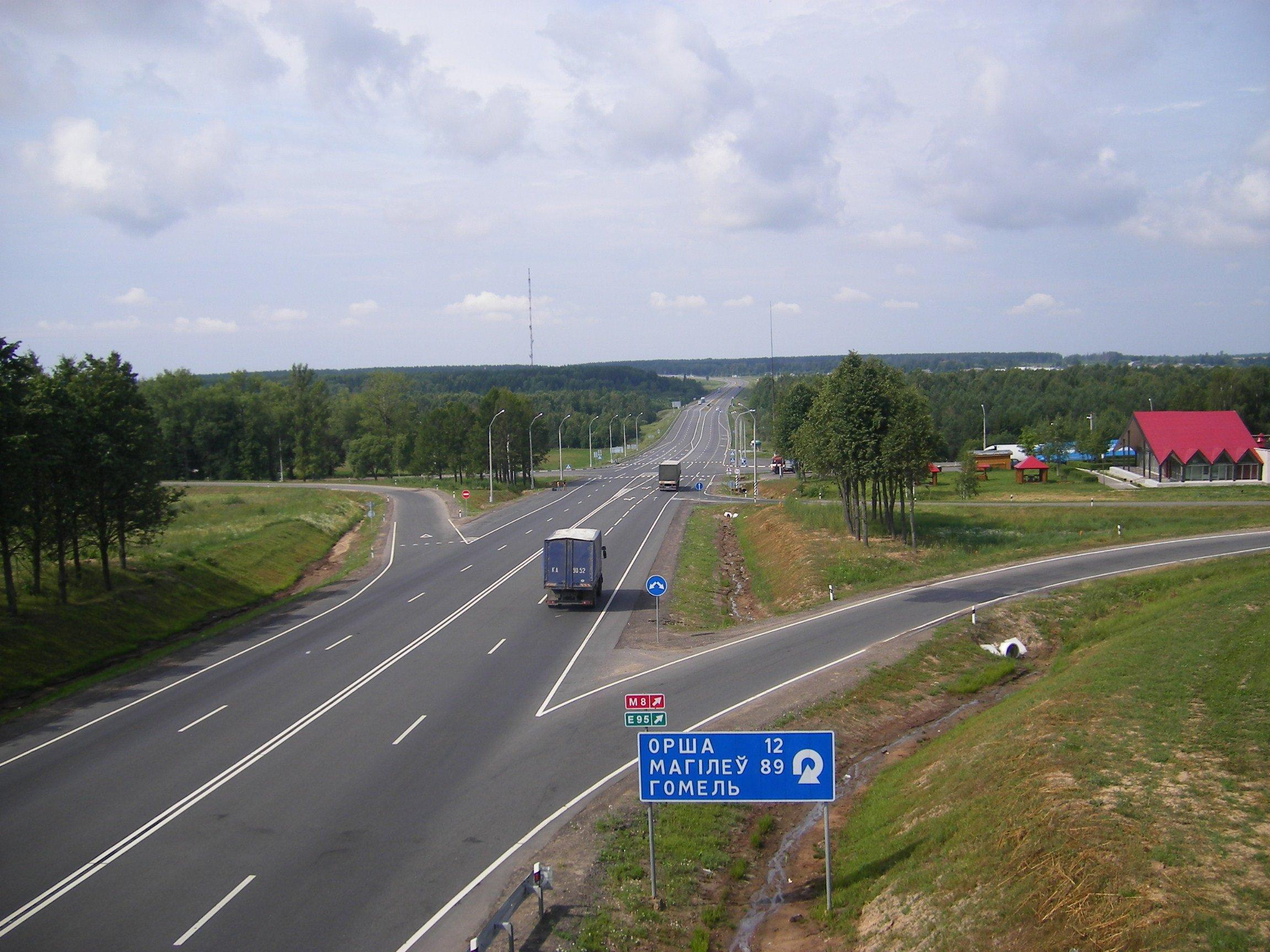 трасса М5 Москва - Тольятти