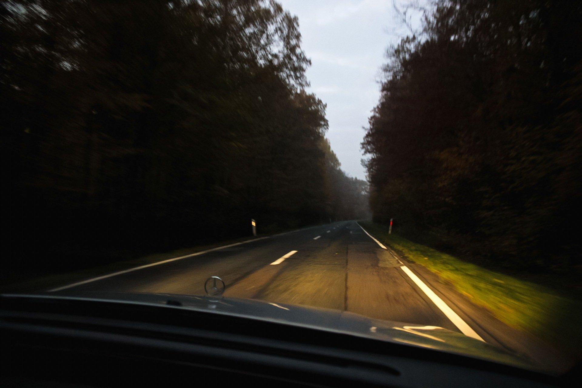 фото вид дороги из окна машины поклонников сериала