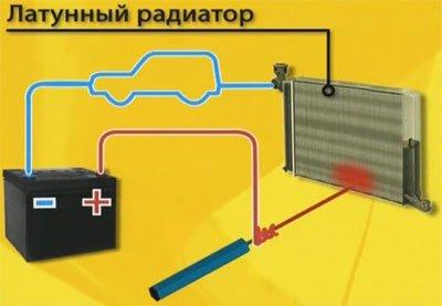 Схема сборки самодельного паяльника