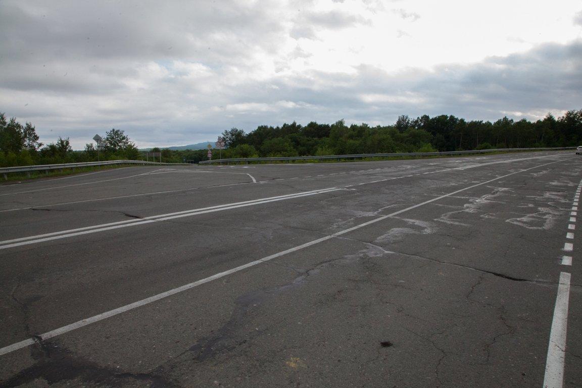 трасса Южно-Сахалинск