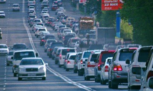 Пробки во Владивостоке