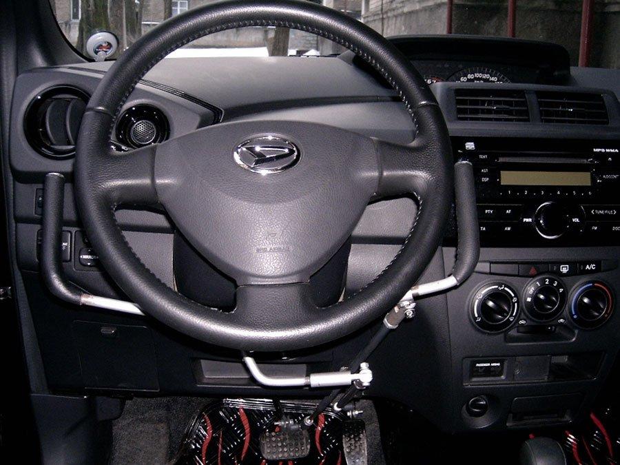 Ручное управление на автомобиль