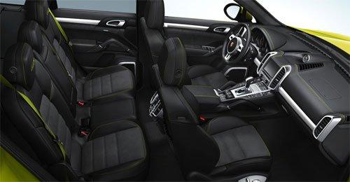 Porsche Cayenne GTS салон