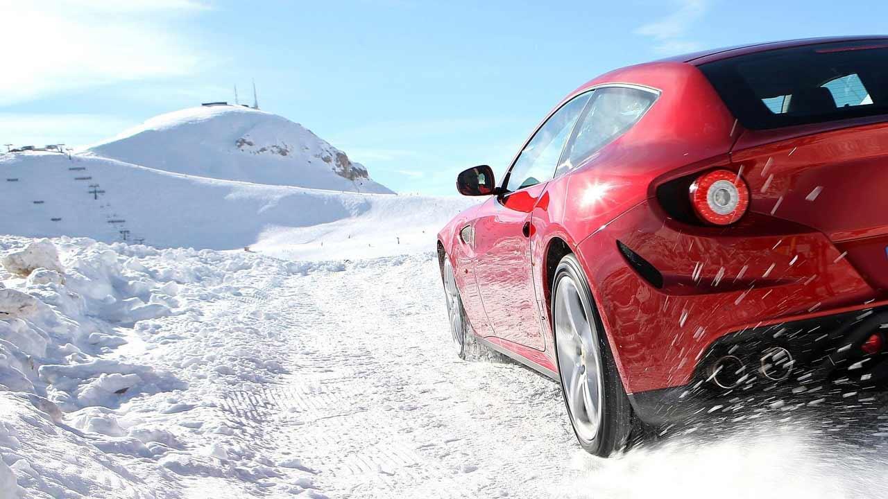 Автомобиль в зимний период года