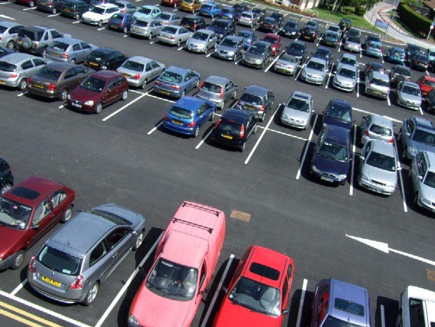 Парковка авто в городе