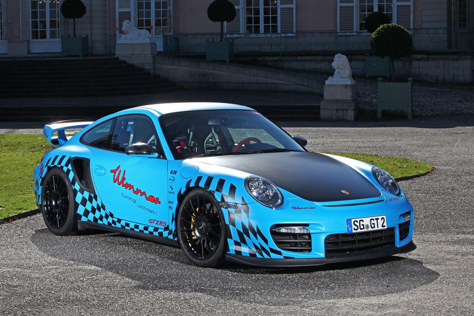 Тюнинг Porsche 911 GT2 RS
