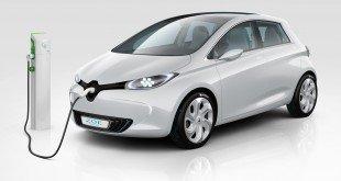 электрический Renault Zoe