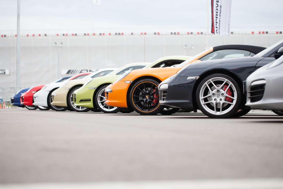 Фестиваль Porsche на Moscow Raceway