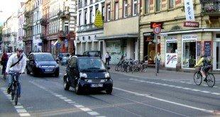 В Германии вождение