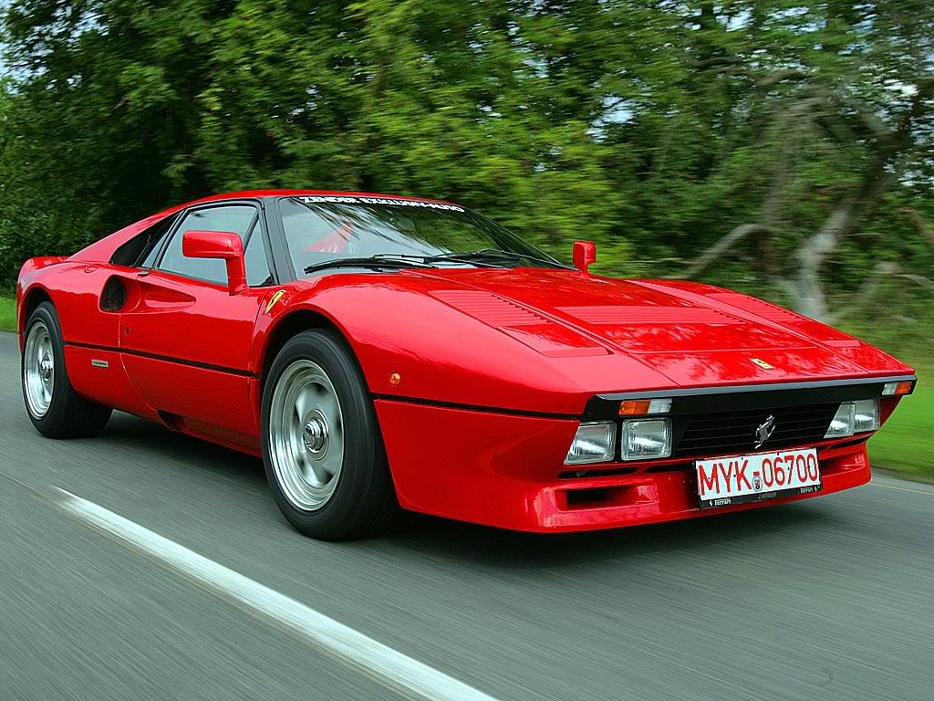 Спорткар Ferrari GTO