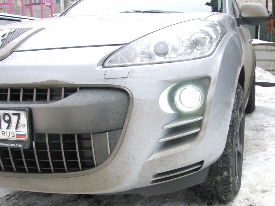Курсовая оптика автомобиля