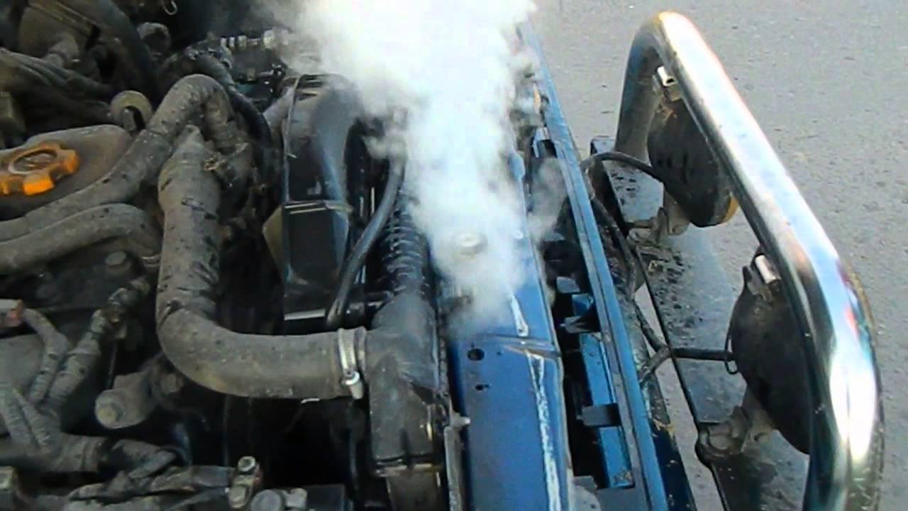 Закипание радиатора автомобиля