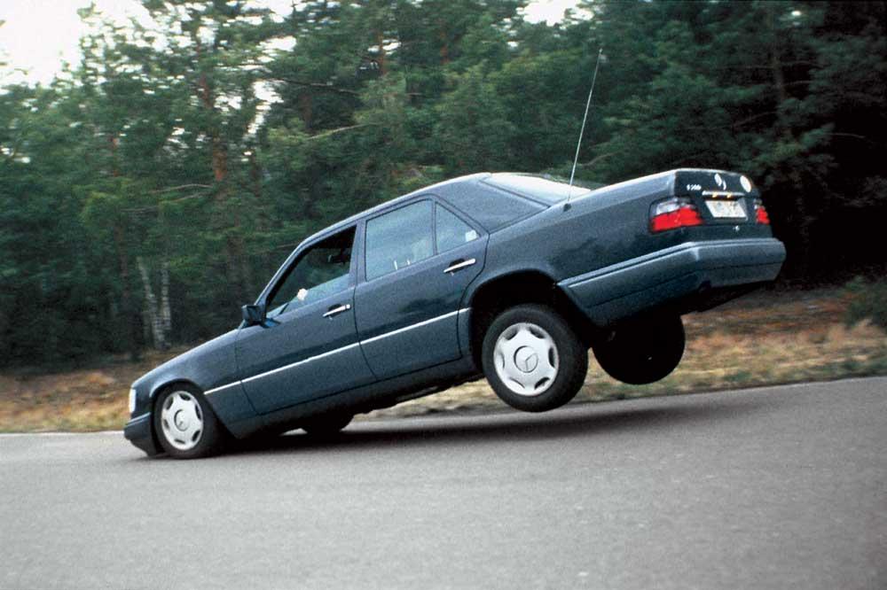 Неправильное выплнение торможения на заднеприводном авто