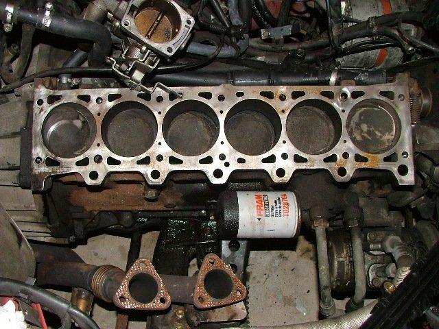 Блок цилиндров двигателя L6
