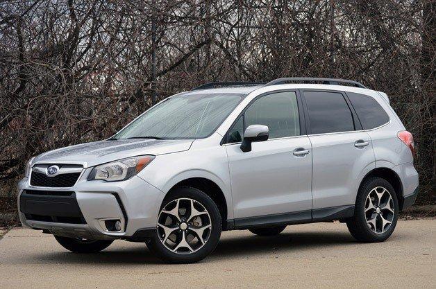 Subaru Forester 2014 в комплектации XT