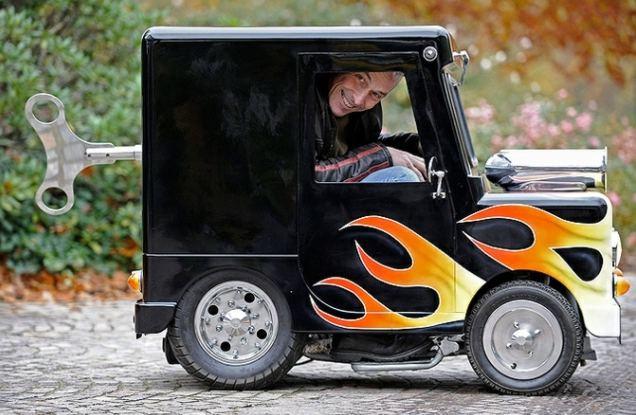 Личный автомобиль Перри Уоткинса