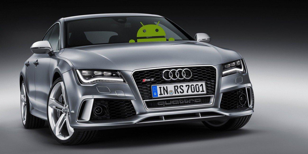 на автомобильном рынке система Android