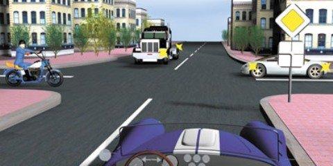 Неразрешимая ситуация на перекрестке равнозначных дорог