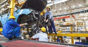 Цех завода легковых автомобилей Chery
