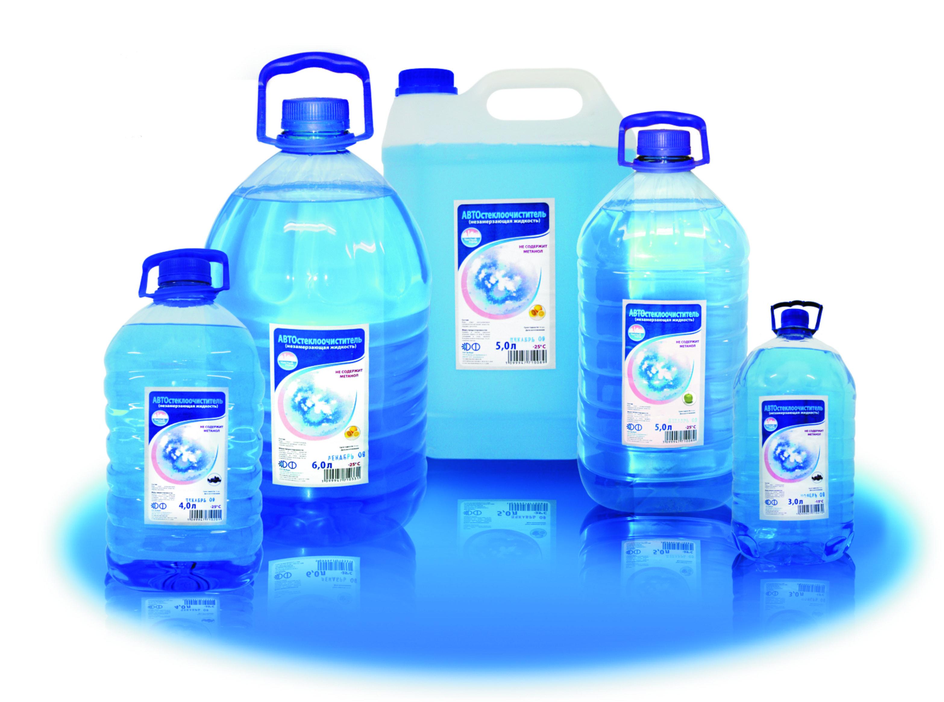 жидкости для омывателя стекол