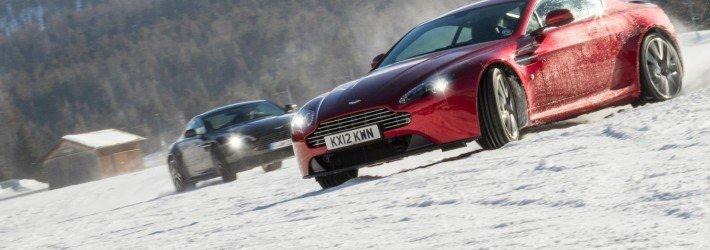 Контраварийное вождение на зимней дороге