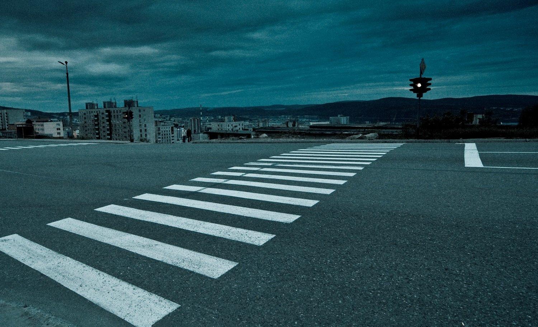 пешеходный переход в Москве