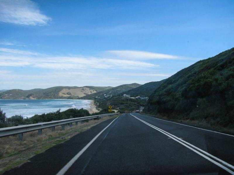 Прибрежная дорога, непростое испытание для автотуриста