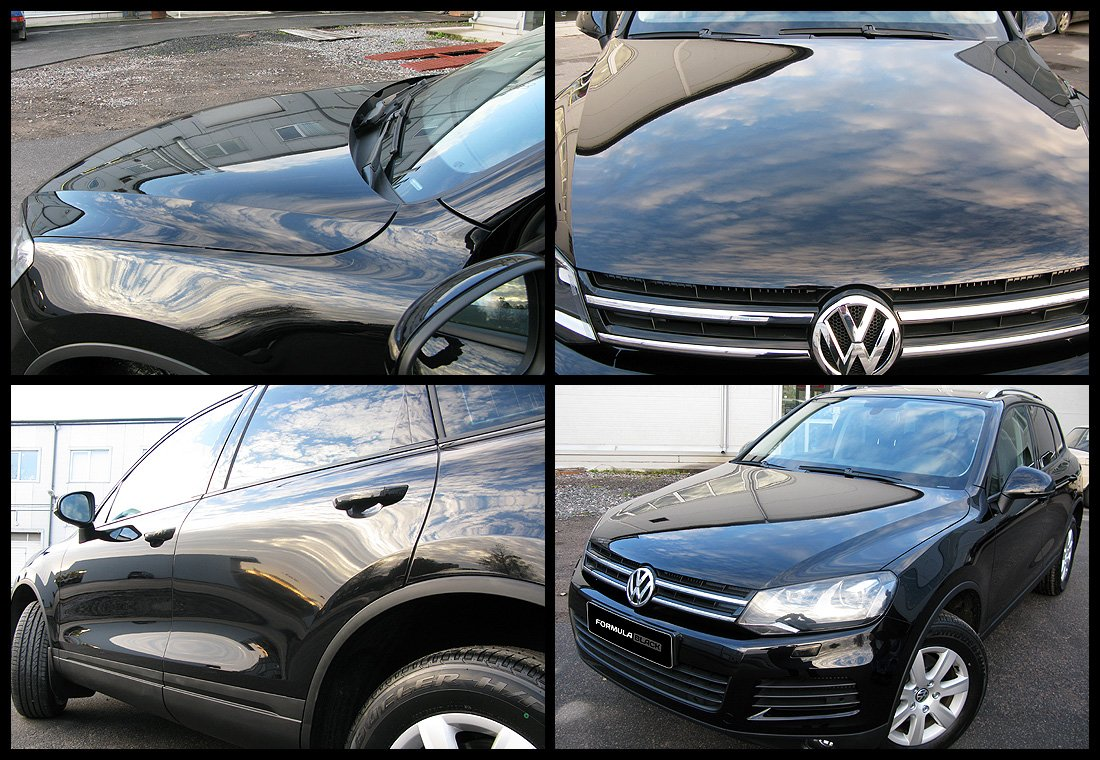Внедорожник VW Touareg, цвет Black Sapphire