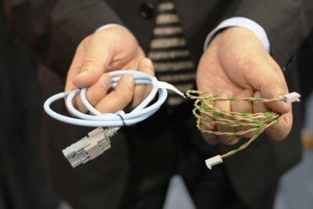 Витая пара Broadcom и стандартный Ethernet-кабель