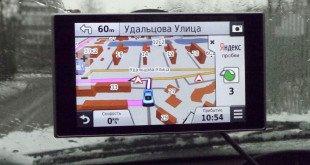 Специализированный навигатор Garmin с большой диагональю экрана