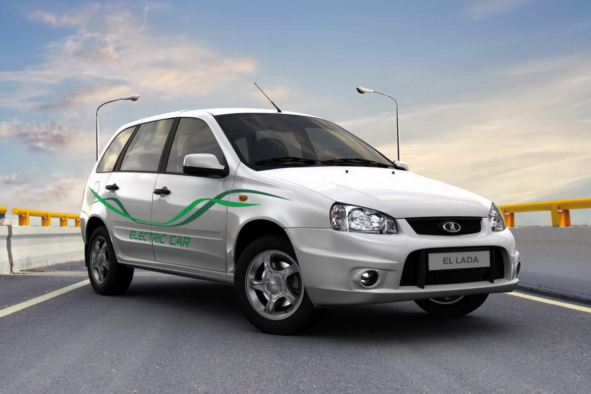 Электромобиль LADA EL Lada, построен на базе Лады Калины