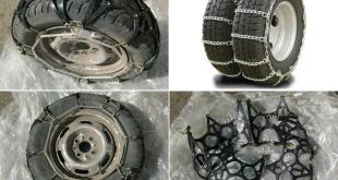 Мягкие и металлические цепи противоскольжения