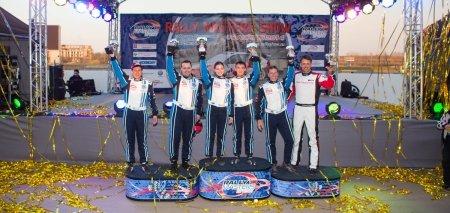 Победители и призеры VW Polo Cup 2014