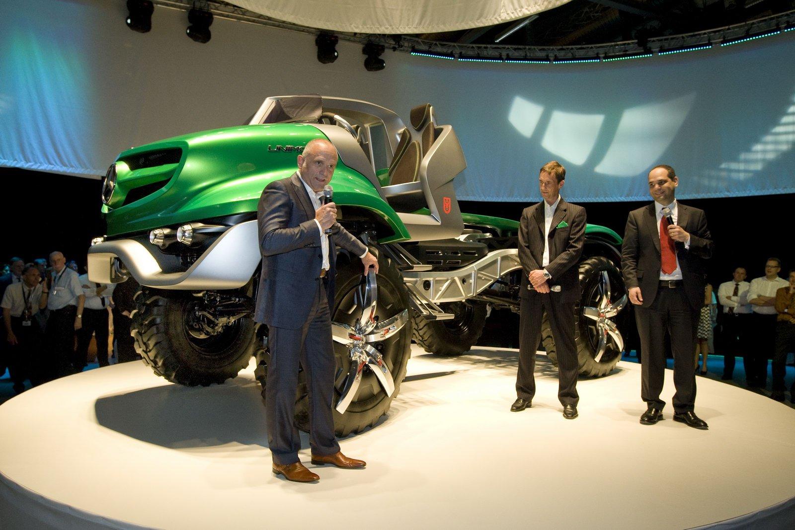 Вездеход-кабриолет Mercedes-Benz