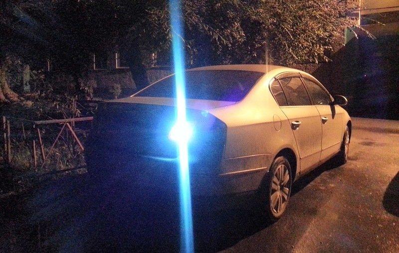 VW Passat, ксеноновый свет