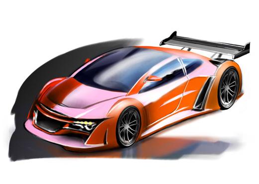 Проект российского спорткара класса GT