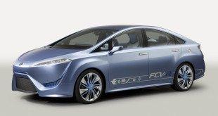 Водородный концепт Toyota FCV 2013 года