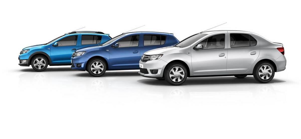 Автомобили Рено-Дача, 2013 модельный год