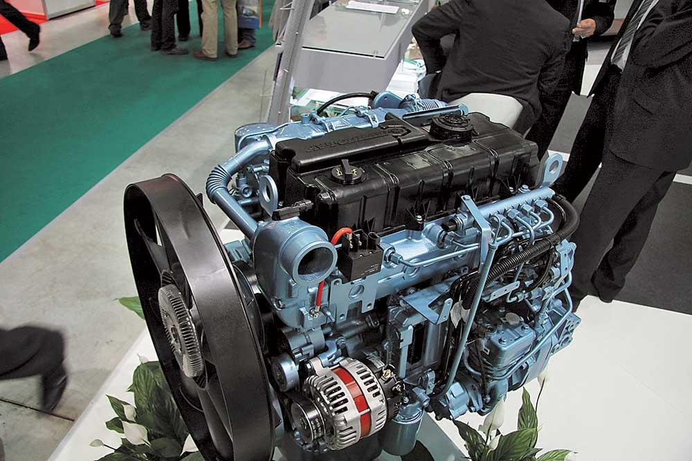 ЯМЗ 5342, дизельный силовой агрегат