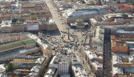 Дорожное движение в крупном городе