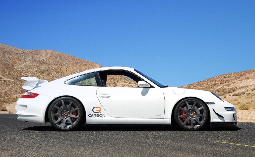 Porsche 911 с дисками Carbon Revolution