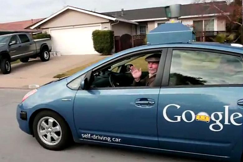 Автомобиль Google, управляемый сам собой
