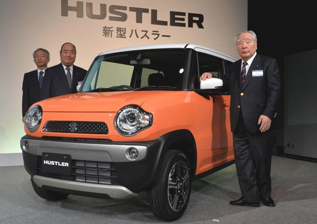 Кроссовер Suzuki Hustler, являющийся кей каром