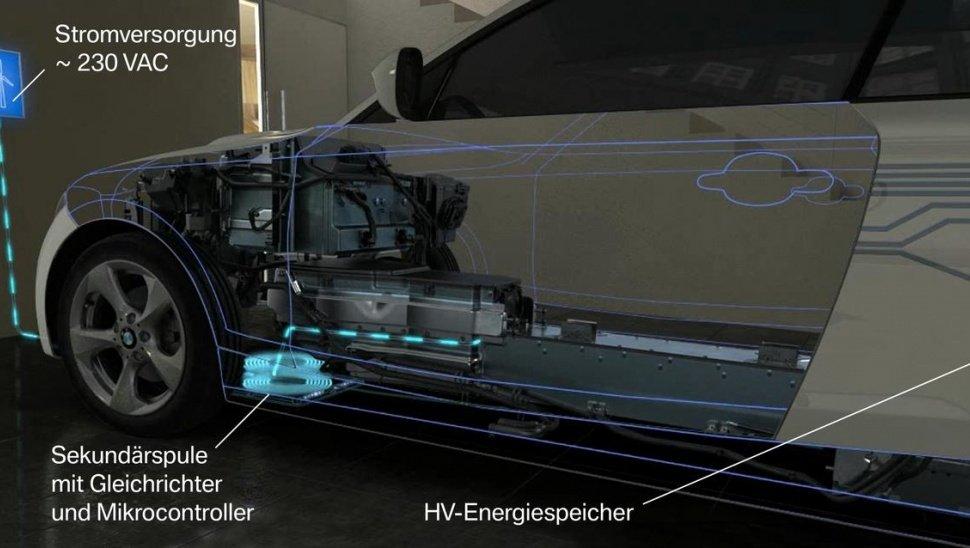 Беспроводная зарядка BMW, как она выглядит в действительности