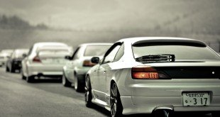 Колонна автомобилей