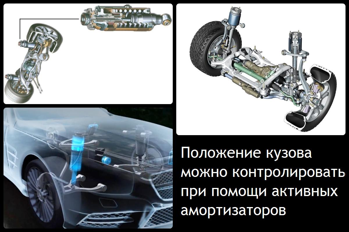 Активный контроль положения кузова от Mercedes-Benz