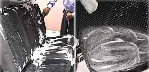 Хозяйственное мыло и чистка пластика и тканей